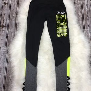 Justice girl yoga pants